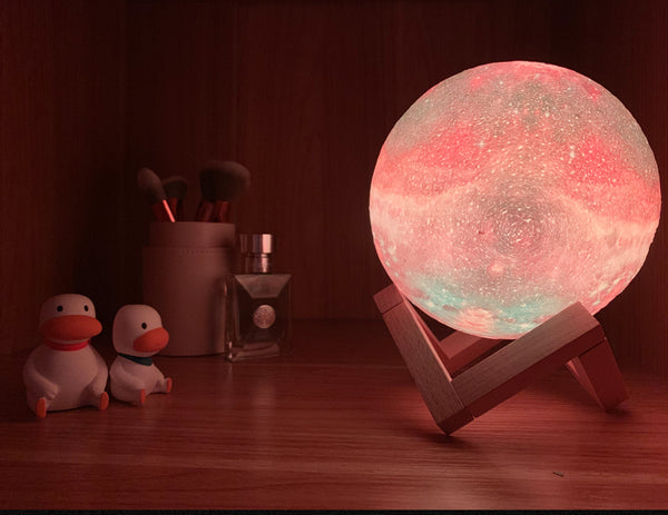 Galaxy Solar System Glowing Ball Night Light Gift Idea