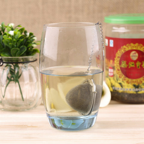 1Pc Stainless Steel Sphere Locking Spice Tea Ball