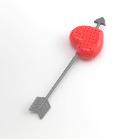 FREE: Heart shaped tea bag strainers