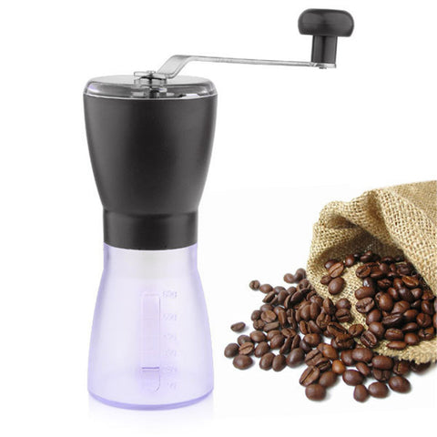 Mini Washable Portable Manual Coffee Beans Grinder
