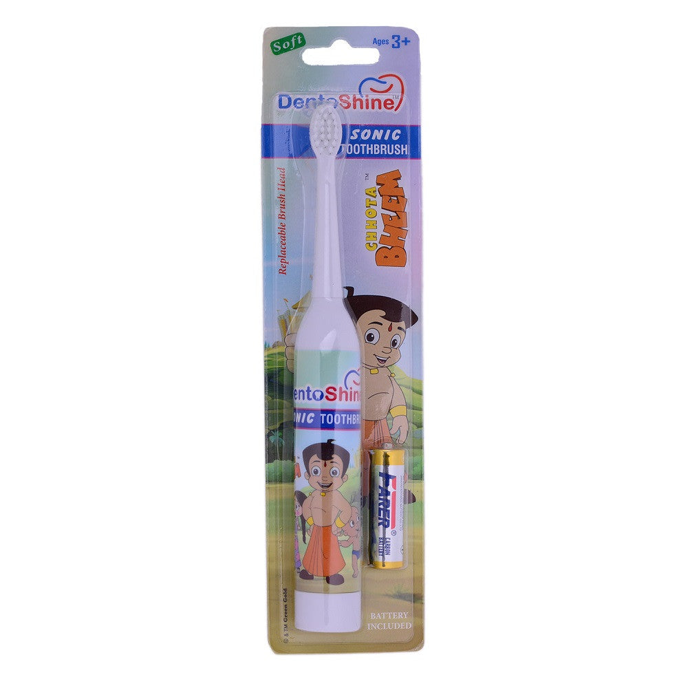 DentoShine Sonic Toothbrush For Kids (Chhota Bheem)