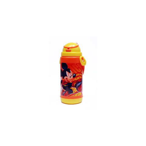 Disney Mickey Mouse Push Button 450 ml Water Bottle