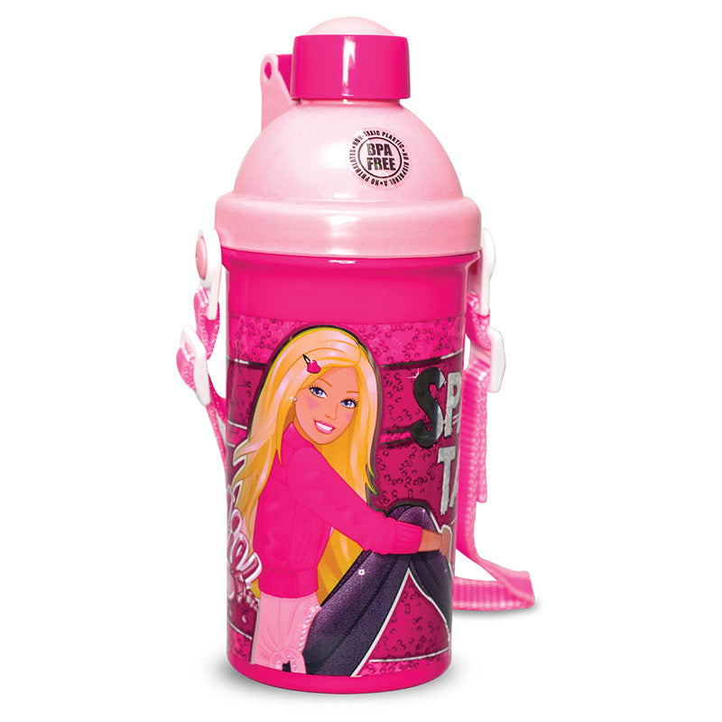 Push Button Bottle  - Barbie Sparkle