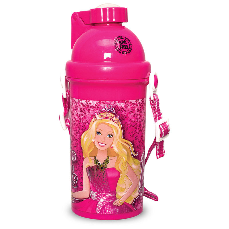 Push Button Bottle - Barbie D1