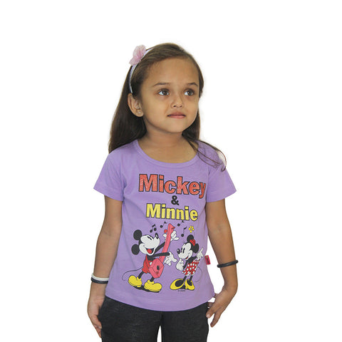 Disney Mickey & Minnie Girls top combo (Pack Of 3)