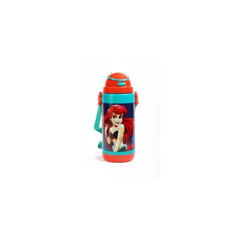 Disney Ariel Princess Push Button 450 ml Water Bottle