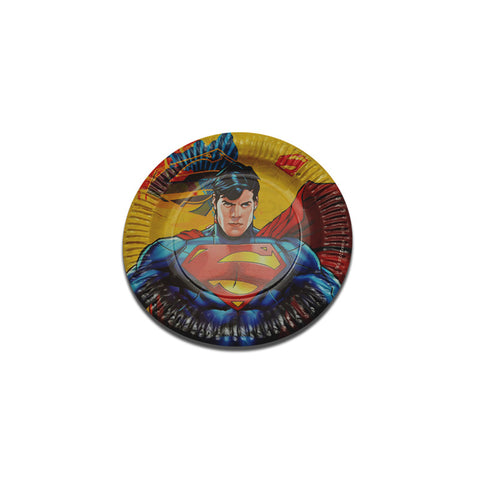 Superman Paper Plate