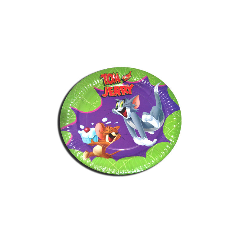 Tom & Jerry Paper Plate