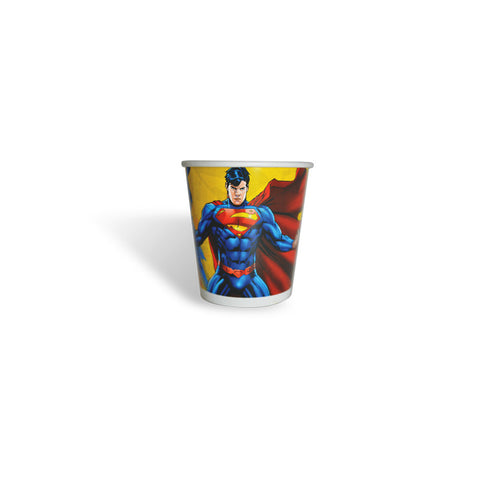 Superman Paper Glass
