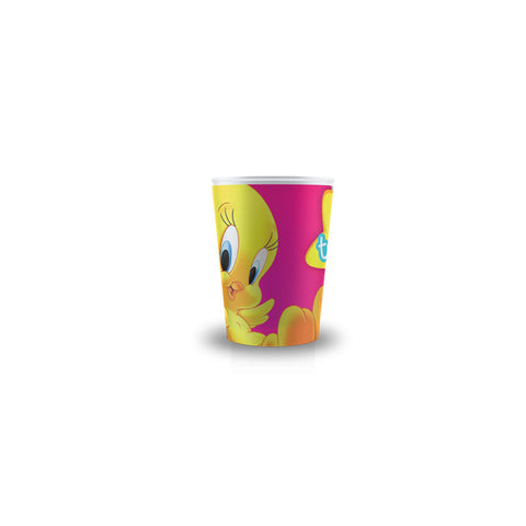 Tweety Paper Glass