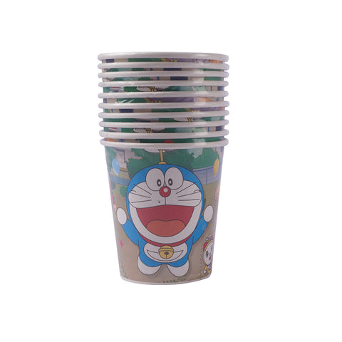 Doraemon Paper Glass