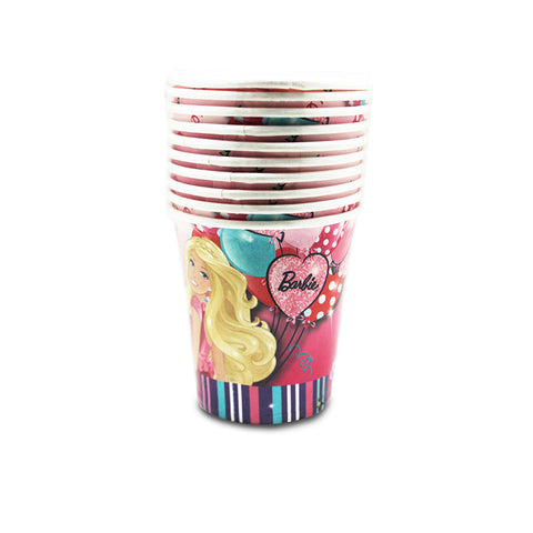 Barbie Paper Glass
