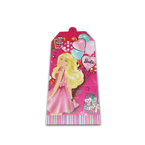Barbie Invitation Card