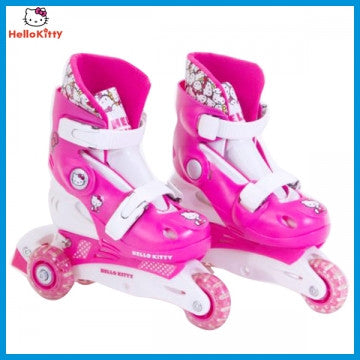 Hello Kitty Skates 3 Wheels Cutie Look - Pink