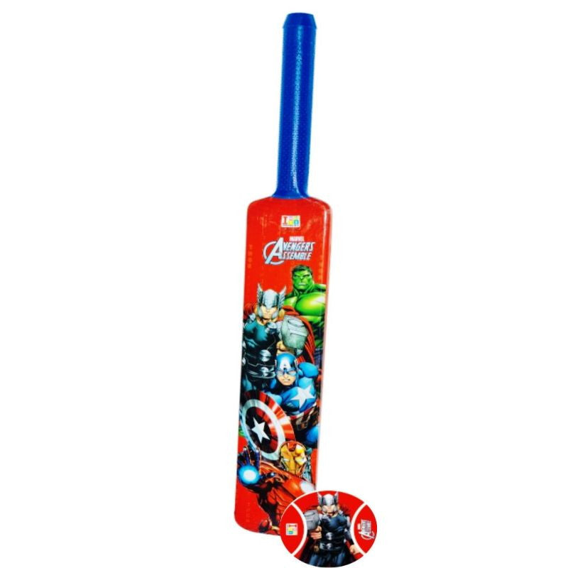 Avengers Bat And Tennis Ball - Plastic - Big