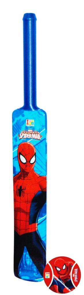 Spiderman Bat And Tennis Ball - Plastic - Big