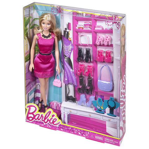 Barbie Doll & Shoes Assortment
