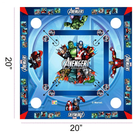 Avengers Carrom Board - Big