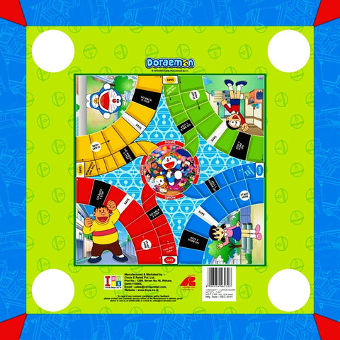 Doraemon Carrom Board - Big