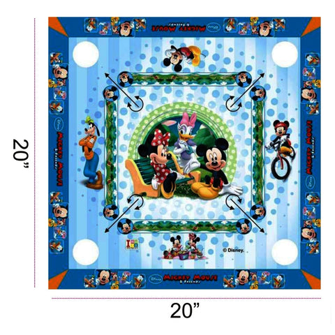 Mickey Mouse Carrom Board - Big