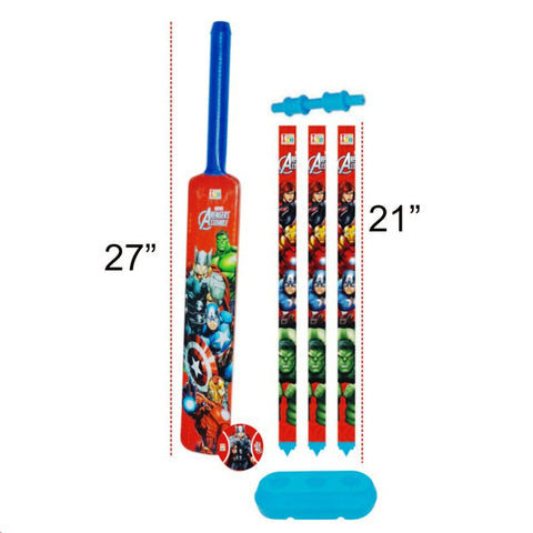 Avengers Cricket Set - Plastic - Big