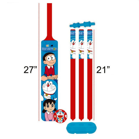 Doraemon Cricket Set - Plastic - Big