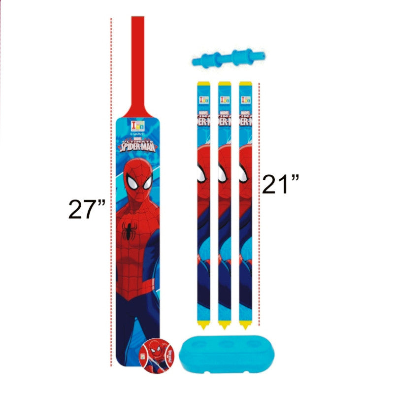 Spiderman Cricket Set - Plastic - Big