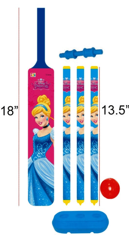 Princess - Cricket Set - Plastic - Junior