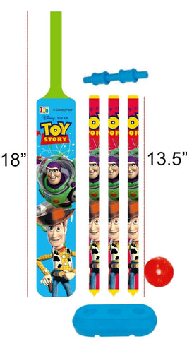 Toy Story - Cricket Set - Plastic - Junior