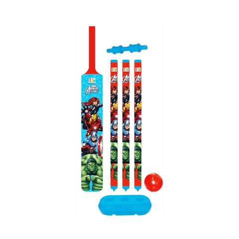Avengers Cricket Set - Plastic - Senior