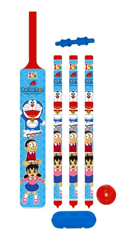 Doraemon Cricket Set - Plastic - Senior