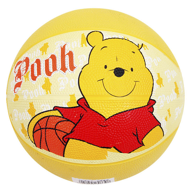 "Disney Winnie The Pooh Rubber Basketball 3""- Yellow"