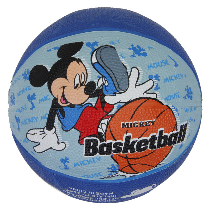 Mickey Rubber Basketball - Blue