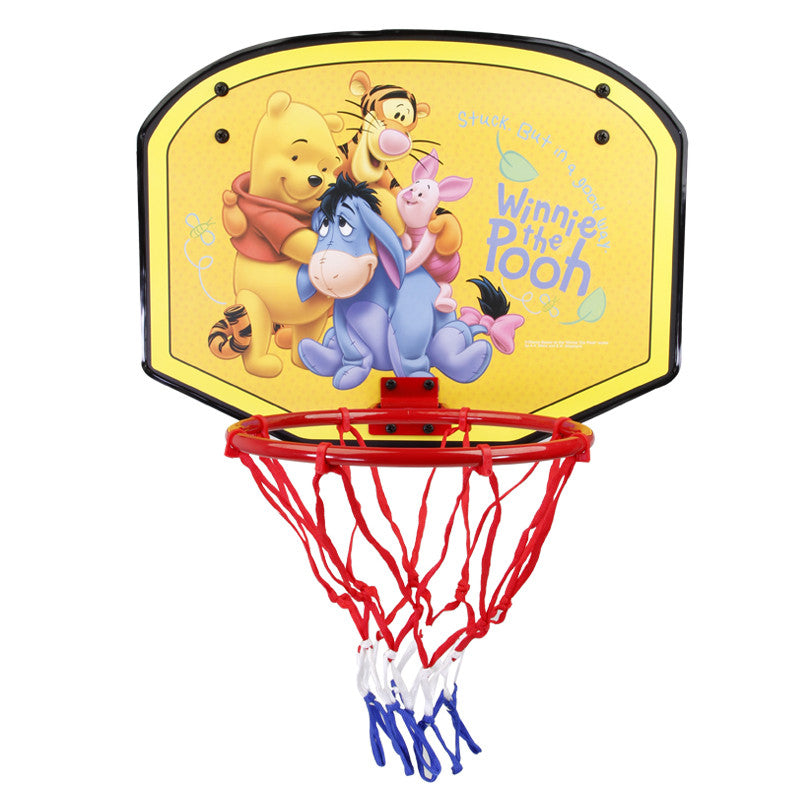Disney Winnie The Pooh Mini Basketball Board ( Medium) - Yellow