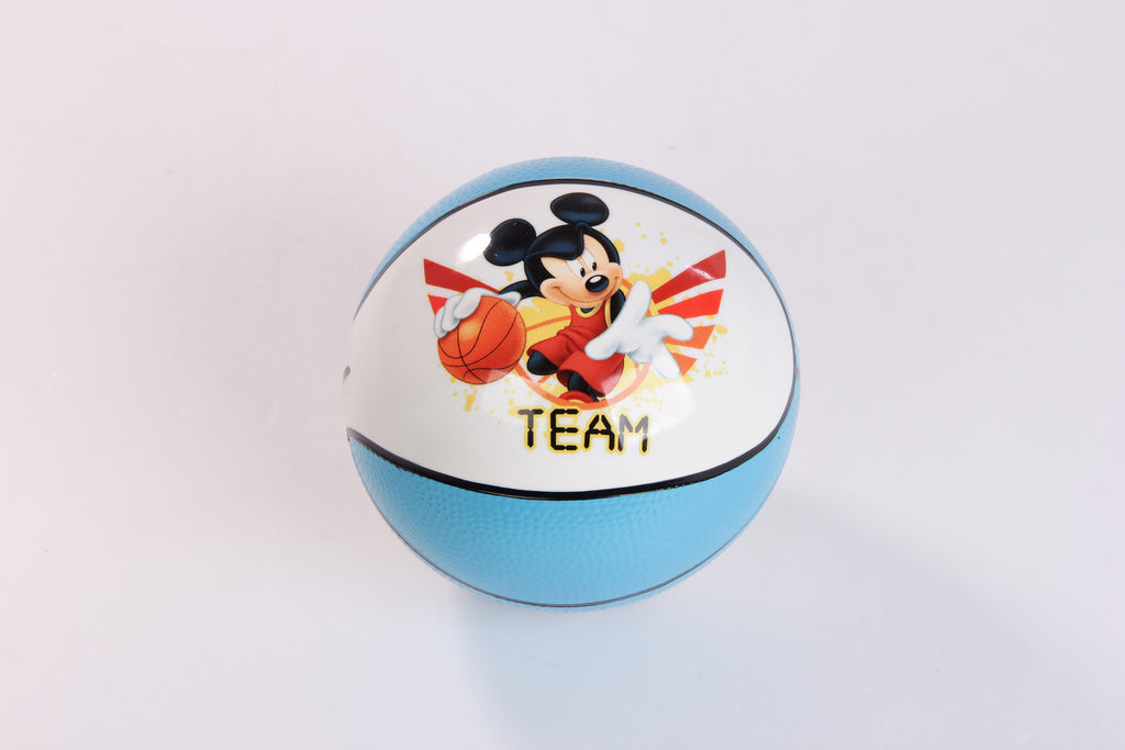 Mickey Basket Play Ball - Blue