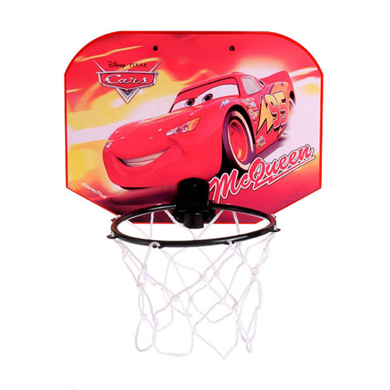 Cars Mini Basketball Board Set - Red