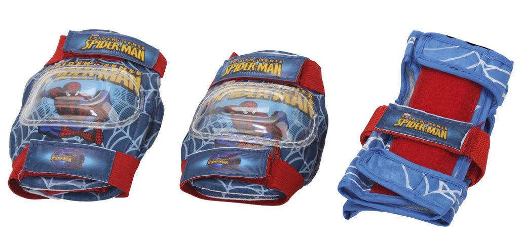 Disney Spiderman Skate Protection Set - Blue & Red