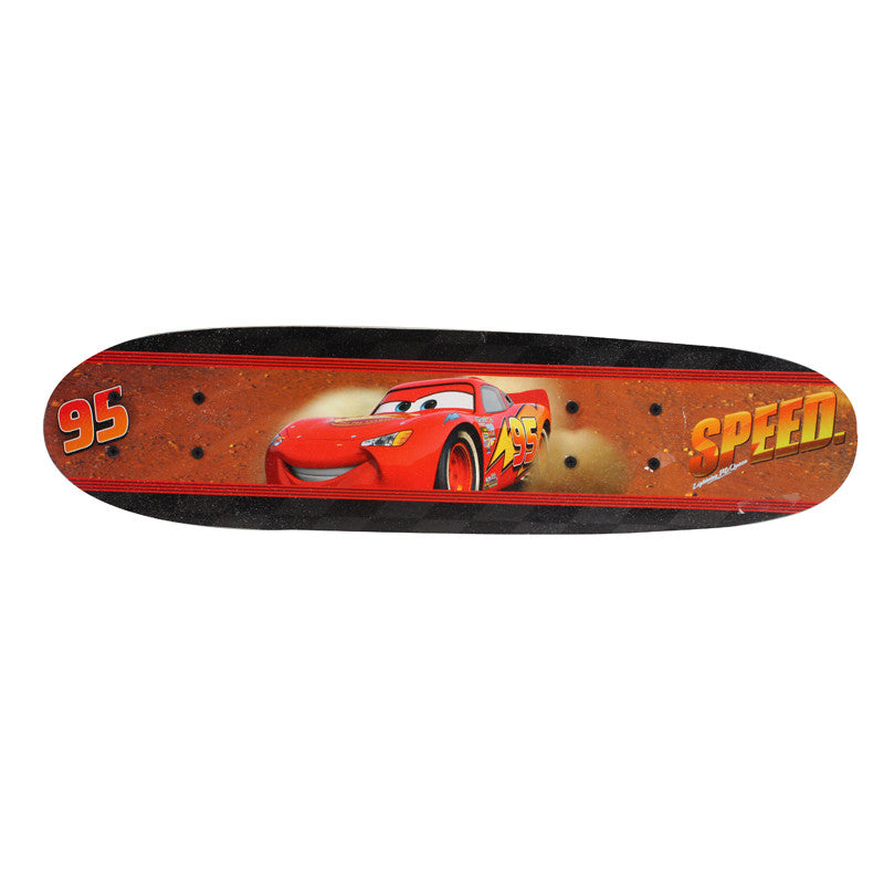 Cars Skate Board - Red & Black