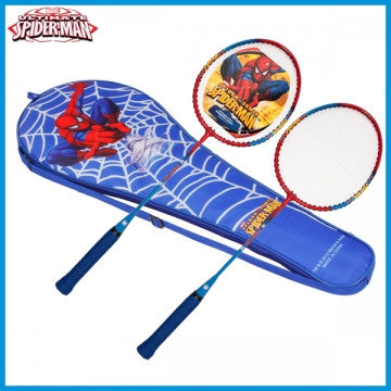 Disney Spiderman Badminton Racket Set  - Red