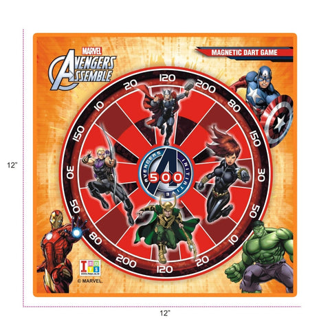 Avengers Dart Game And Writing Board (2-in-1)