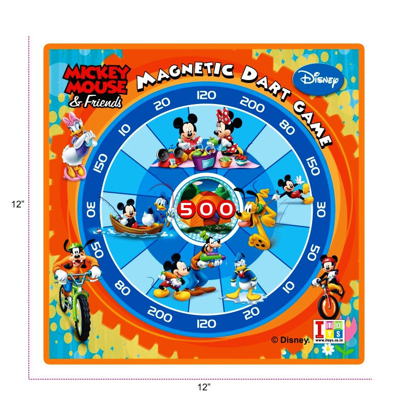 Mickey Mouse Dart Game And Writing Board (2-in-1)
