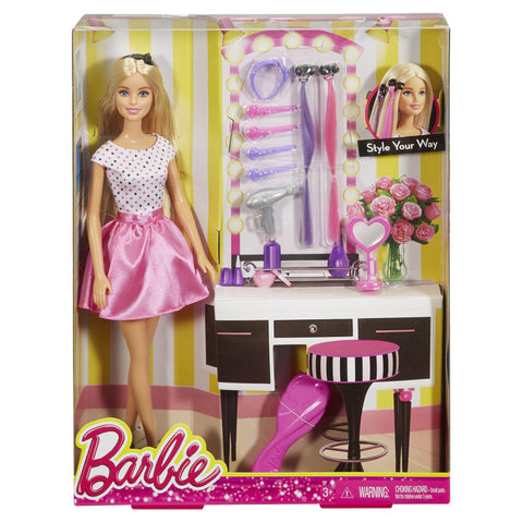 Barbie Hair Accessories Set