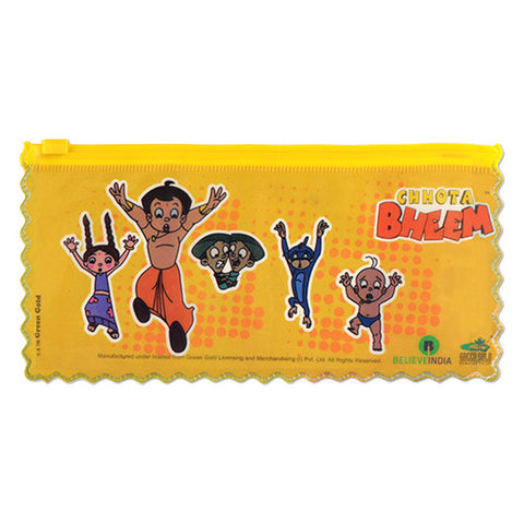 Chhota Bheem Stationery Pouch (Yellow)
