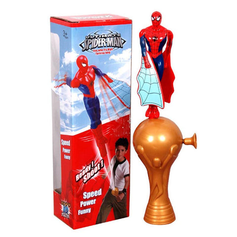 Ready Shoot Flying Spiderman (Multicolor)