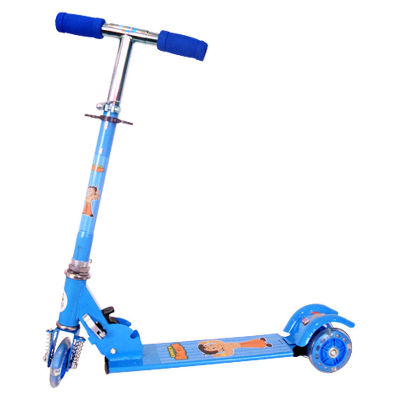 Chhota Bheem 3 Wheel Skate Scooter - Blue
