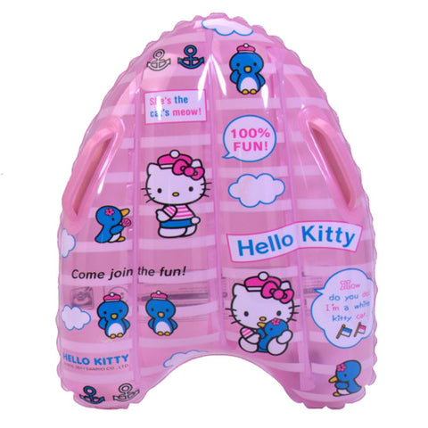 Hello Kitty Inflatable Floating Plate - Pink