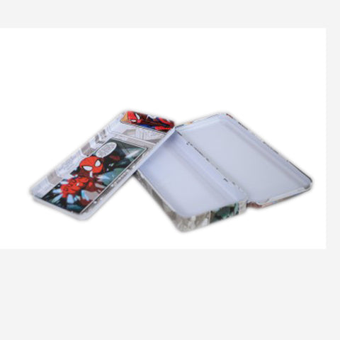 Spider Man Comic Print Art Plastic Pencil Box