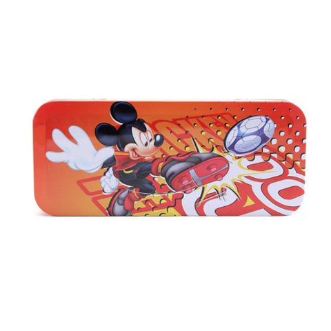 Disney Mickey Mouse Cartoon Art Plastic Pencil Box