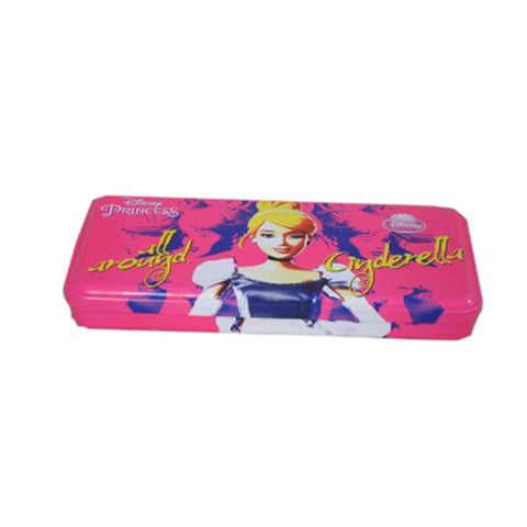 Disney Cinderella Cartoon Art Metal Pencil Box