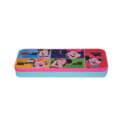 Disney Minnie Mouse Cartoon Art Plastic Pencil Box